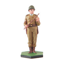 Tin Toy Soldier US Army WW2 General Patton metal figurine 54mm hand painted #113