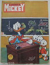 ¤ LE JOURNAL DE MICKEY n°124 ¤ 10/10/1954