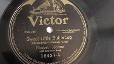 Elizabeth Spencer- 78rpm single 10-inch – Victor #18427 Homeward Bound