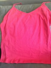 SIMPLY STYLED SEARS WOMEN'S SIZE XL ESSENTIAL CAMI TANK TOP LILAC ROSE PINK