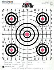 Champion Score Keeper Fluorescent Orange Bull 100 Yard Sight Rifle 12/pk 45726