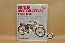 Vtg 1987 British Motorcycles Since 1950 Vol 4 Panther Silk Sun HC Book By Wilson