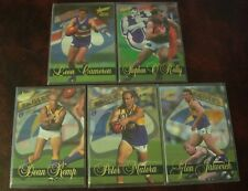 1995 AUSTRALIAN AFL FOOTBALL LIMITED EDITION INSERT CARDS x 5~EAGLES-BULLDOGS