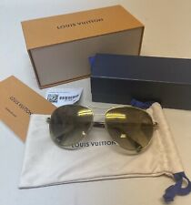 LOUIS VUITTON SONNENBRILLE SUNGLASSES PILOTE MONOGRAM PHOTOCHROME GLÄSER RARITY!