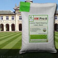 A1LAWN AM PRO-8 LUXURY HARD-WEARING LAWN GRASS SEED 10kg (DEFRA certified)