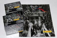 Panini CHAMPIONS OF EUROPE 2005 - 2 x DISPLAY BOX sealed/OVP + Leeralbum ALBUM