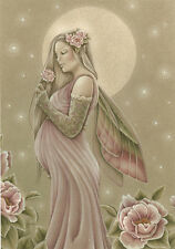 Jessica Galbreth Fairy Print The Gift Maternity Mother Giclee Pregnant Faery