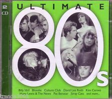 Ultimate 80s 2CD Classic Greatest Rock POWER STATION FOREIGNER SIMPLE MINDS