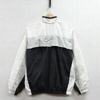 Vintage Nike Full Zip Windbreaker Jacket Womens Size Large 90s