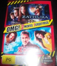 Zathura / Zoom Academy For Superheroes (Australia Region 4) DVD - NEW