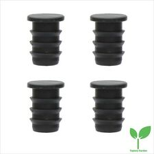 """Triple Barbed 1/2"""" Hose / Main Tube End Stoppers. Irrigation Systems. Packs of 4"""