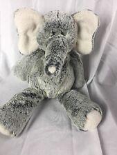 "14"" Gray Elephant Plush Stuffed Animal  Mary Meyer Super Soft floppy"