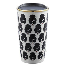2017 STARBUCKS TAIWAN COFFEE ALICE + OLIVIA AO#1 DOUBLE LAYER WALLED MUG TUMBLER