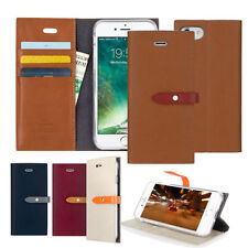 Synthetic Leather Mobile Phone Flip Cases for iPhone 7 Plus