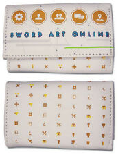 **License** Sword Art Online Menu Icons Trifold Wallet #61530