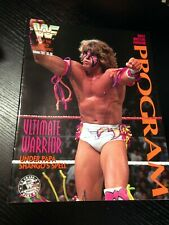 WWF PROGRAM 1992 Volume 203 - Ultimate Warrior + Posters