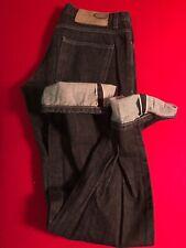 Naked and Famous Black Selvedge Slim Guy Japanese Denim Jeans 32