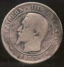 FRANCE  FRANCIA  10 centimes NAPOLEON III   1853 MA  (2)