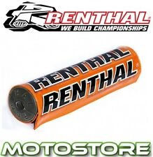 RENTHAL STREETFIGHTER BAR PAD 8.5 INCH ORANGE BLACK FOR RENTHAL CROSS BRACE