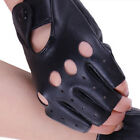 Fashion Half Finger Driving Women Gloves PU Leather Fingerless Gloves Dance