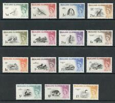 Falkland Is SG193/207 1960 Birds Set of 15 M/M