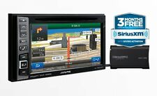 "2017 ALPINE INE-W960HDMI 6.1"" NAVIGATION CD DVD BLUETOOTH RECEIVER + XM TUNER NR"