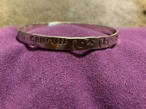 925 Sterling Silver Cancun Mexico Starfish Bangle Bracelet