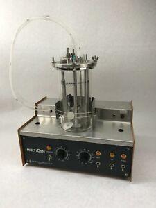 New Brunswick Scientific MultiGen Air Fermenter F-2000 w/ Glass Vessel Mixer