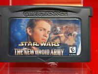 ADVANCE NINTENDO DS LITE GAMEBOY SP ADVANCE star wars the new droids army