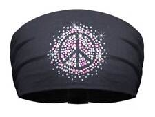 That's A Wrap Women's Rhinestone & Studded Peace Sign Knotty Band KB2617