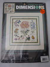 Dimensions 1996 Counted Cross Stitch Kit Floral Potpourri 3827 Sealed