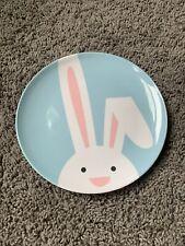 Crate & Barrel Melamine Bunny Plate