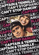 CAPTAIN & TENNILLE 1976  Sheet Music CAN'T STOP DANCIN' #13 Billboard Hot 100