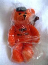 NOLAN RYAN #ED/36000 AUTOGRAPHED ORANGE EXPRESS TO COOPERSTOWN  COLLECTIBLE BEAR