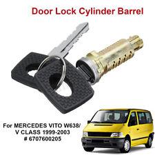 Door Handle Ignition Lock Barrel & Keys For Mercedes Vito W638 99-03 6707600205