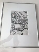 Art - Prada Handbag Art Illustration (framed)