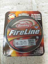 Berkley FireLine 10 lb 125 yards smoke Nib