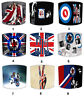 The Who Quadrophenia Lampshades, Ideal To Match The Who Cushion & Covers.