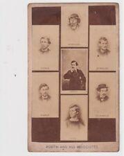 John Wilkes Booth Herold Atzerodt Payne Arnold + 1860s Assassins Cdv Photograph