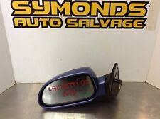 CHEVROLET LACETTI N/S PASSENGER SIDE ELECTRIC WING MIRROR BLUE REF :H115