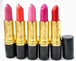 Revlon Super Lustrous Lipstick (NEW SHADES + RESTOCKED) NEW/SEALED