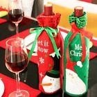 Wine Bottle Cover Bag Christmas Xmas Dinner Table Decoration Santa Claus Snowman