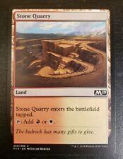 1x Stone Quarry Core Set 2019 Mtg Magic Gathering Card Dual Land White Red 256