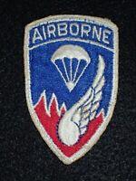 "WW2 US Army 187th RCT Infantry Regiment Airborne ""Rakkasans"" SSI Shoulder Patch"