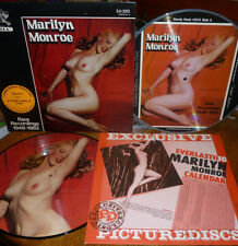 *<* 2 MARILYN MONROE NUDE PICTURE DISCS: FINAL UPGRADES OF HER MOST FAMOUS POSE