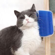 Cat Corner Scratcher Brush Pet Hair Removal Massage Comb For Kitten Puppy
