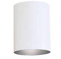 "Progress Lighting Cylinder 5"" Wide LED Flush Mount Ceiling Fixture - White"