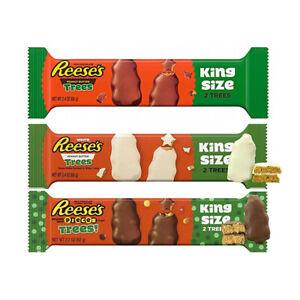 Reese's Christmas Chocolates Reese's Trees Milk White Chocolate Pieces King Size