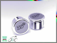 Colnago 35th Plugs Caps Tapones guidon bouchons lenker vintage style New silver