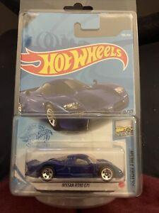 Hot Wheels 2021 Mainline NIssan R390 GTI Die-cast Blue Race Car, New